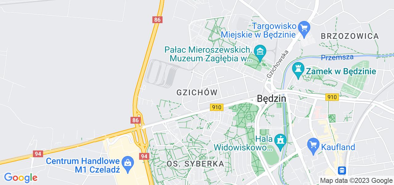 Osiedle Gzichów w Będzinie – w tych punktach ekspresowo wyślesz turbinę do autoryzowanego serwisu