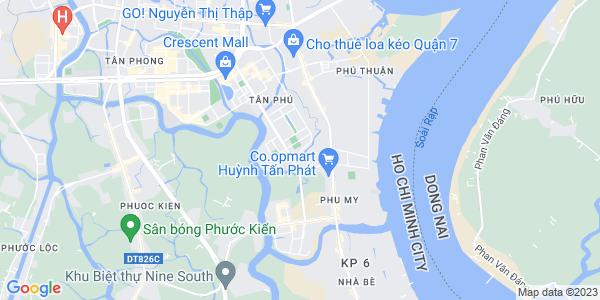 Google Map of H3-6+Hung+Vuong+2+Phu+My+Hung%2C+District+7+Ho+Chi+Minh+City