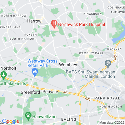 Barham Park, Wembley Location