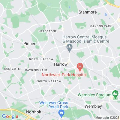 Harrow Recreation Ground Location