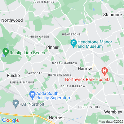 Yeading Walk Location