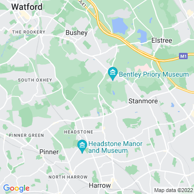 Grims Dyke, Harrow Location