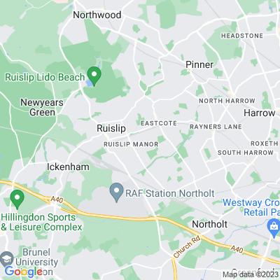 Roxbourne Park, Hillingdon Location