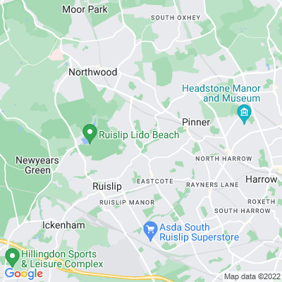 Eastcote House Gardens Location