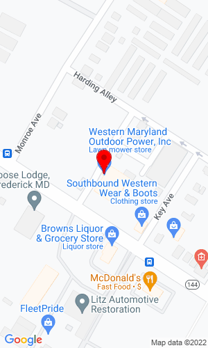 Google Map of HB Duvall Inc 901 East Patrick Street, Frederick, MD, 21701