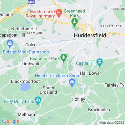 Beaumont Park, Huddersfield Location