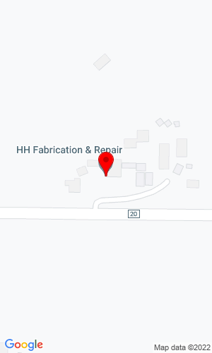 Google Map of HH Fabrication & Repair LLC 19150 County Road 20, Winsted, MN, 55395