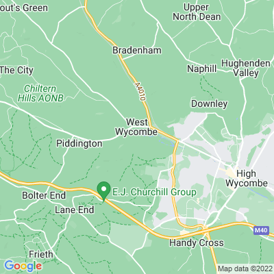 West Wycombe Park Location