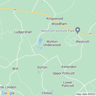 Wotton Underwood Location