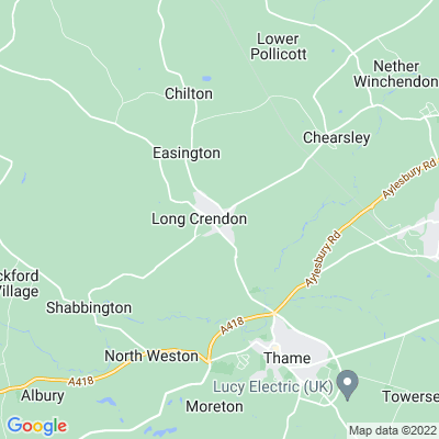 Manor, The, Long Crendon Location