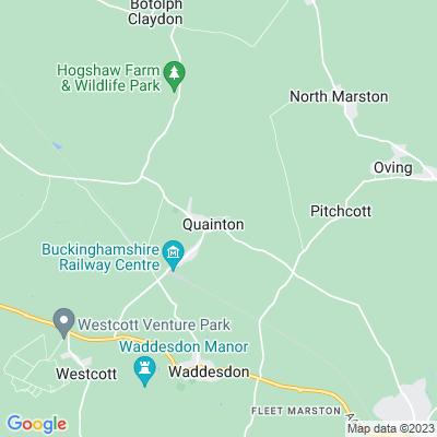 Rectory, Quainton Location