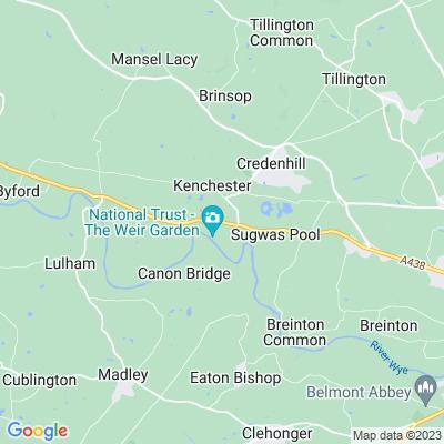 New Weir Location