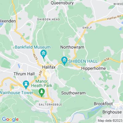 Shibden Hall Location