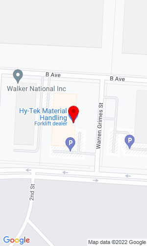 Google Map of HY-TEK JCB 2222 Rickenbacker Parkway W, Columbus, OH, 43217,