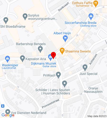 Google Map of Haagdijk 145 4811 TR Breda
