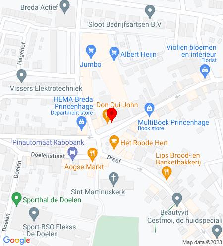 Google Map of Haagsemarkt 10 4813 BA Breda