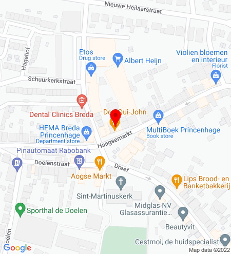 Google Map of Haagsemarkt 20 4813 BB Breda