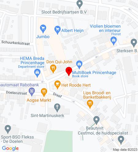 Google Map of Haagsemarkt 30 4813 BB Breda