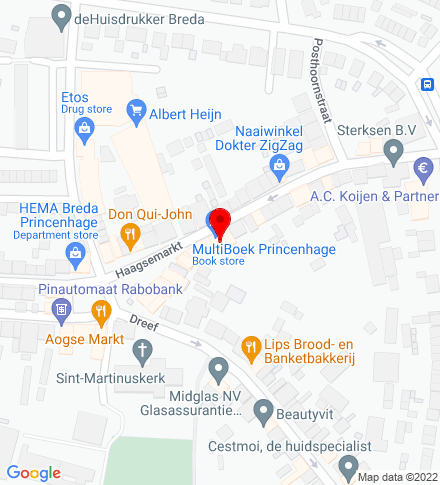 Google Map of Haagweg 435, 4813 XD Breda