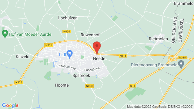 Neede op Google Maps
