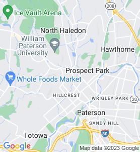 Haledon NJ Map