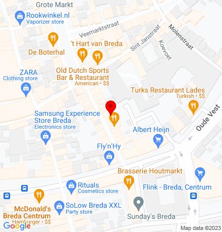 Google Map of Halstraat 17 4811 HV Breda