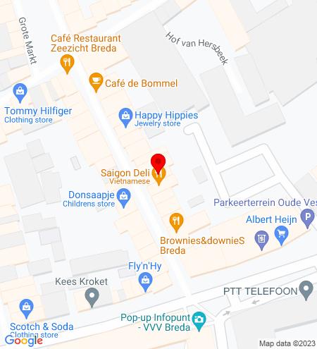 Google Map of Halstraat 19 4811 HV Breda