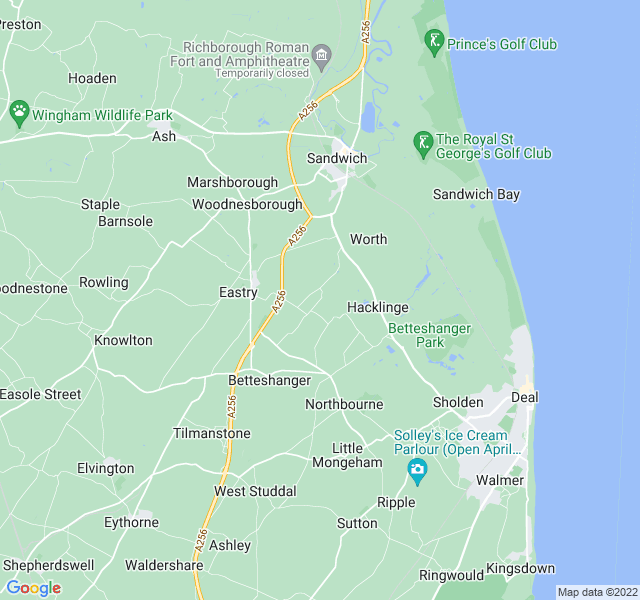 Website Designer Ham Google map of location