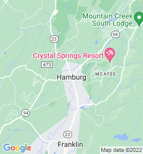 Hamburg NJ Map