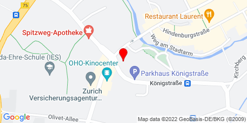 Google Map of Hamburger Str. 7  in 23843 Bad Oldesloe