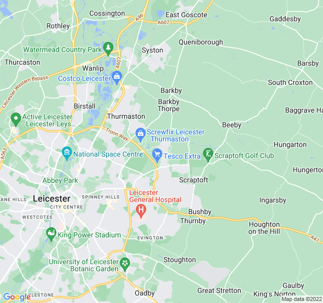 Website Designer Hamilton Google map of location