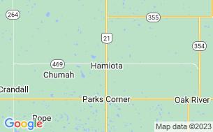 Map of Hamiota Municipal Campground