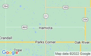 Map of Hamiota Municipal Campground