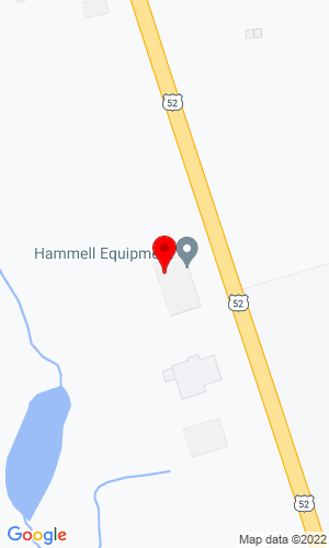 Google Map of Hammell Equipment Hwy 52 N, Chatfield, MN, 55923-0488,