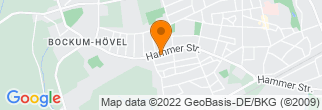 Google Map of Hammer Straße 74 a 59075 Hamm