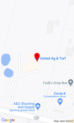 Google Map of Hammond Tractor Company 216 Center Road, Fairfield, ME, 04937