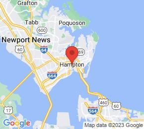 Job Map - Hampton, Virginia  US