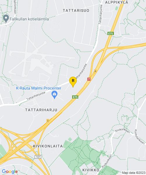 Google Map of Harkkoraudantie 4,helsinki, finland