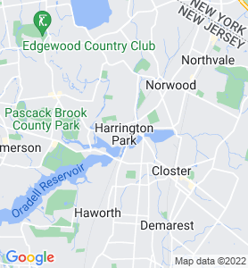 Harrington Park NJ Map
