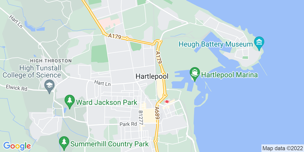 Map: Business Support Assistant position in Hartlepool