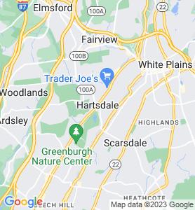 Hartsdale NY Map