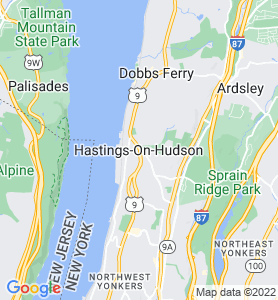 Hastings On Hudson NY Map