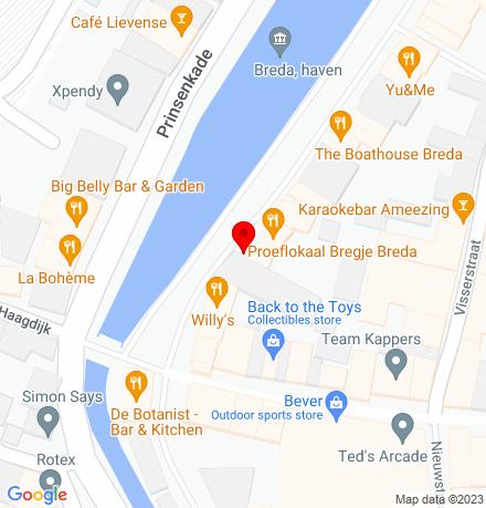 Google Map of Haven 10 4811 WK Breda