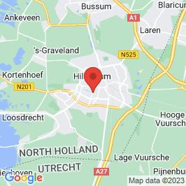 Google map of Ons Gebouw, Hilversum