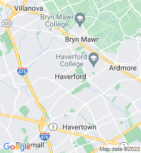 Haverford PA Map