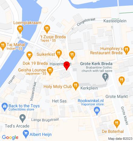 Google Map of Havermarkt 1 4811 WG Breda