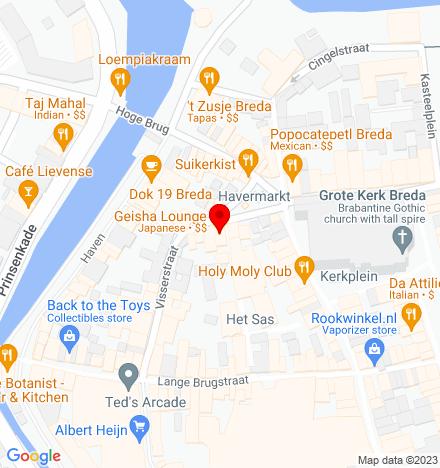 Google Map of Havermarkt 21 4811 WG Breda