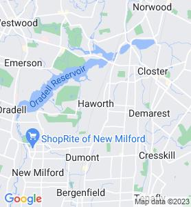 Haworth NJ Map