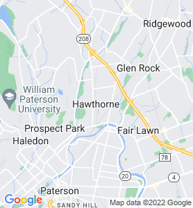 Hawthorne NJ Map