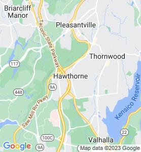 Hawthorne NY Map